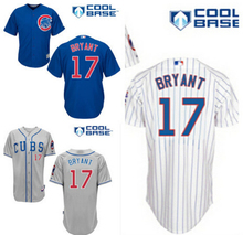 Kris Bryant Jersey,Men's Chicago Cubs Jerseys # 17 Kris Bryant # 44 Anthony Rizzo #22 Addison Russell Baseball Jersey