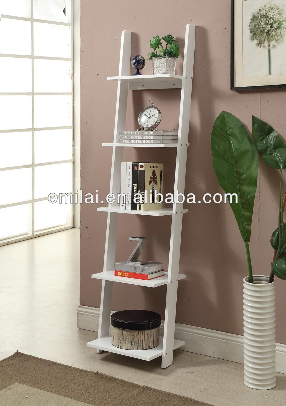 Mdf Narrow Bookshelf Decorative Ladders In Living Room   Buy Narrow  Bookshelf,Decorative Step Ladders,Decorative Ladders Wood Product On  Alibaba.com