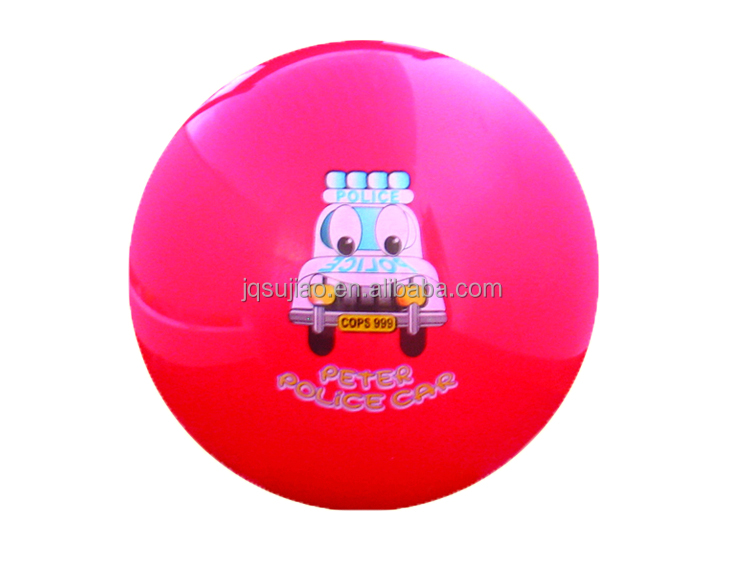16P Free PVC inflatable ball bounce, decal ball, sticker ball toy ball