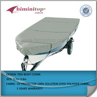 600D rigid hull inflatable boats manufacturer boat cover