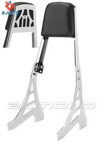Motorcycle black Chrome chopper Sissy Bar Backrest Back Rest Bar bars Fit For Sportster 883 1995-2003