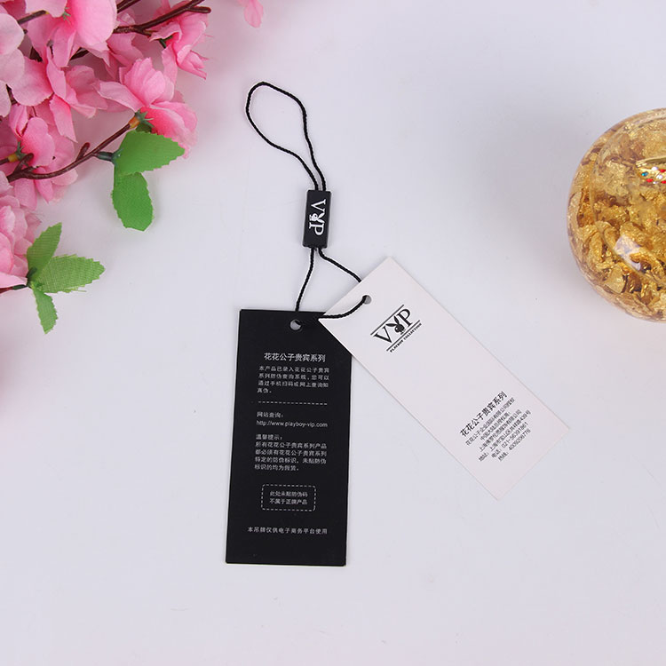 Eco-friendly customized clothing hang tag