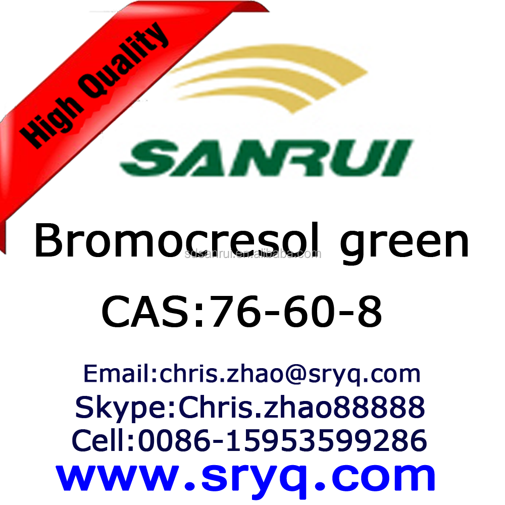 Cas 76-60-8 Bromocresol green, High quality Bromocresol green