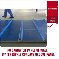 High Quality metal pu sandwich roof insulated panel