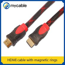 HDMI cable with magnetic rings lcd monitor with hdmi input