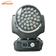 Factory hot sales indoor full color moving head dmx 37 led stage lighting