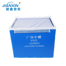 Customized Waterproof Motorcycle Pizza delivery Corrugated Plastic Box