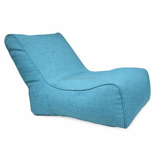 multi-layer aesthetic Green bean bag recliner, Sofa beanbag living room lounger