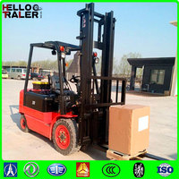 8 Hours Working Time AC Electric Forklift 3 Ton
