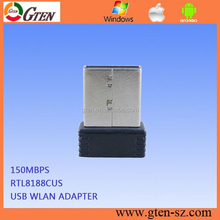 2.4GHz network card 150Mbps wireless adapter 802.11n RT8188CUS 1000mw alfa wifi usb adapter