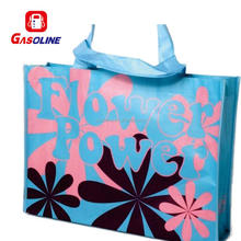 Durable promotional purse shape non woven folding carry bag