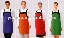 HOT selled polyester&cotton cheap housekeeping apron