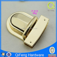 F-512 lock clasp for bracelets, bag locks and clasps,lock for male bag