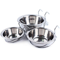 Wholesale Quality Skidproof Cheap Stainless Steel Dog Bowl