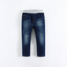 Latest boys fashion jeans 2015 mom and bab boys cotton soft jeans