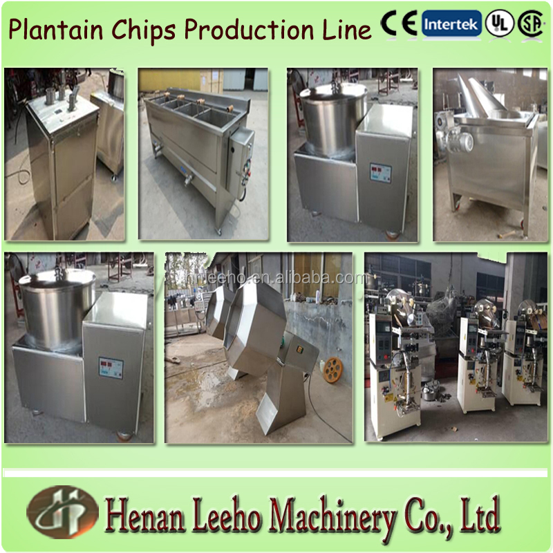 semi-automatic plantain chips making machine production line