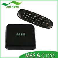 Original internet TV Box M8S 2G/8G Dual band 2.4G/5G wifi Android 4.4 Amlogic S812 Chip 4K TV Box Kodi fully loaded