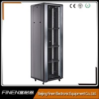 Glass door server cabinets network rack for FINEN