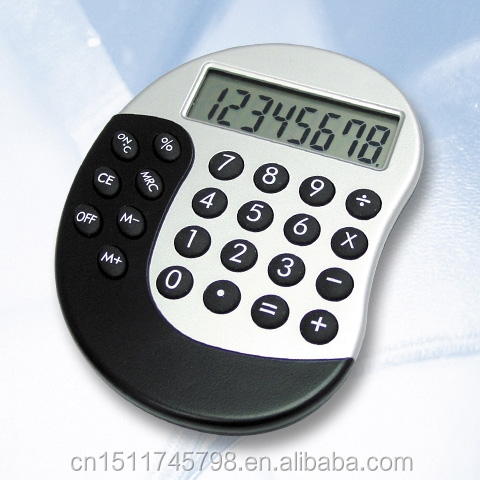 Promotional gift Plastic 8 Digit Electronic Pocket Calculator