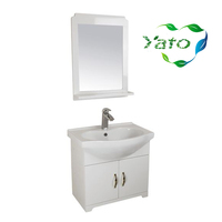 Modern furniture for small bathroom white bathroom vanity unit italian bathroom vanity YB-2014 YATO