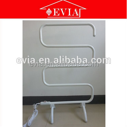 EVIA indoor airer towel warmer,electric heated towel rail,free standing metal towel hanger