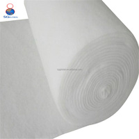 Wholesale needle punched 100% polyester non woven fabric