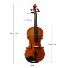 High-Quality, Hand-Made, Handwork Copal Paint Violin (AVL-063)