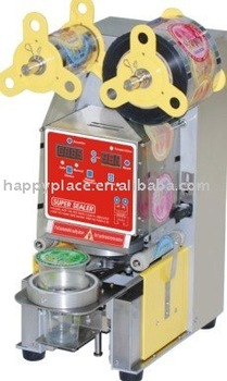sealing machine for plastic cups