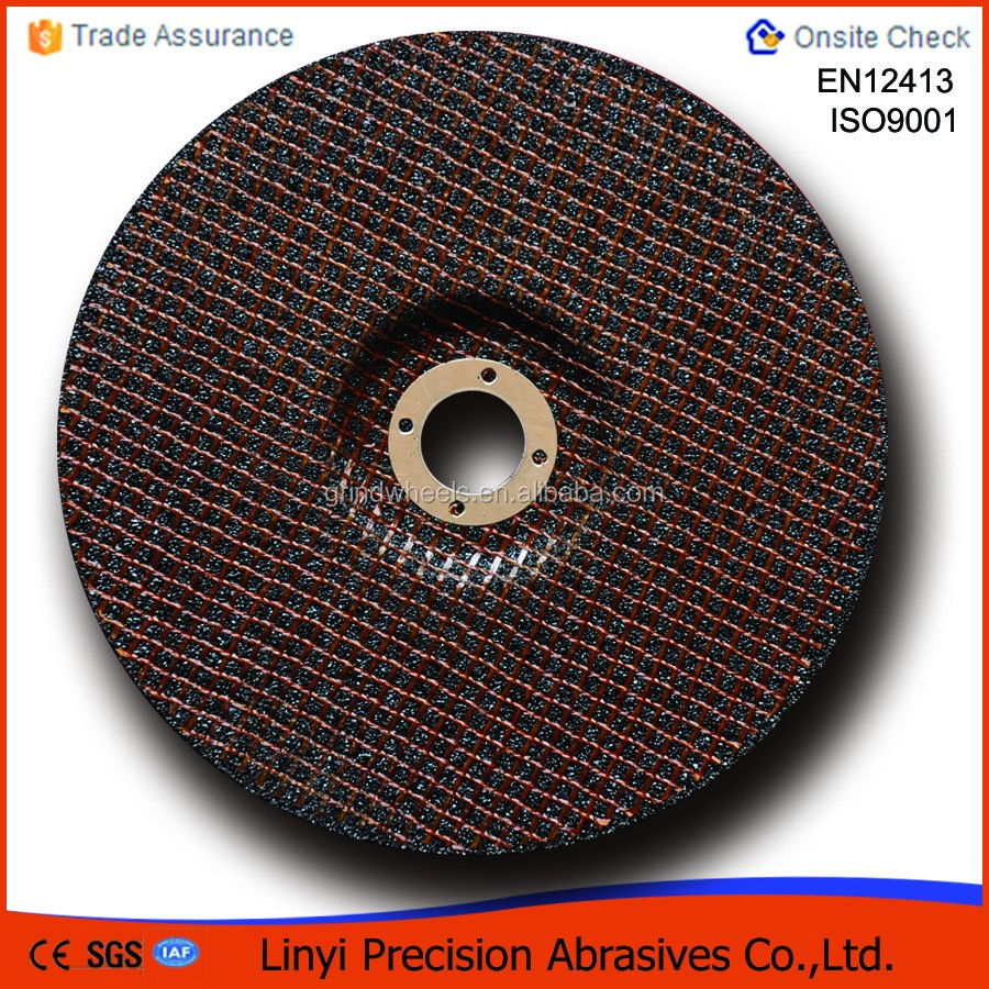 Depressed center grinding discs in abrasive tools/grinding wheel for carbon steel
