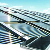 Constant temperature solar collector solar home systems