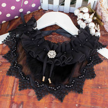 Popular Fashion Decoration Lace hollow Fake Collar