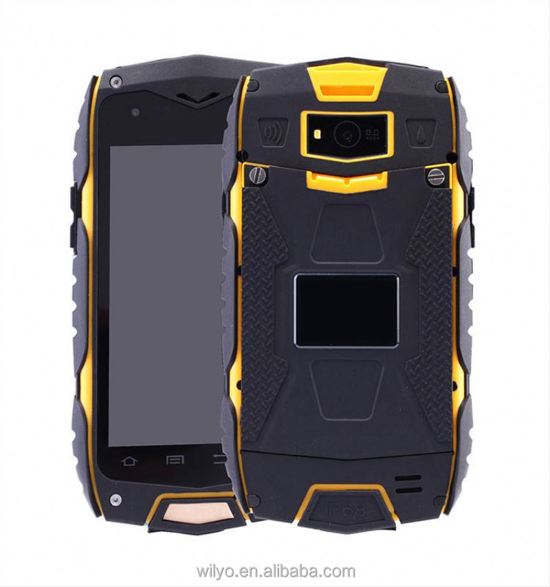 4.0 inch IPS Touch Screen rugged cell phone 4g rugged phone , Waterproof, Shockproof, Dust-proof android smartphone