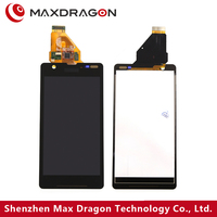 For sony xperia ZR M36h lcd digitizer assembly C5503 C5502 touch lcd display complete