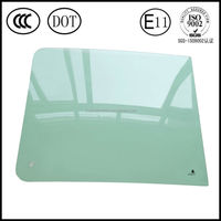 Supply Sumitomo 280 excavator cab door glass windshield glazing