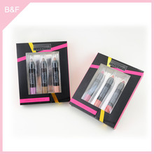 Moisture lipstick crayon 2015 new cosmetic lipstick molds thread makeup brushes