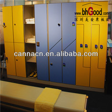 formica lockers with bench