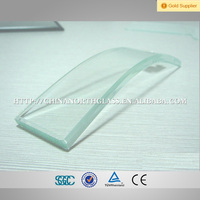 Customized Pattern Flat/ CurvedTempered Stained Glass for Buildings