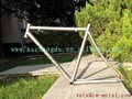 titanium road bicycle frame with Integrated head tube titanium road bike frame with 48cm