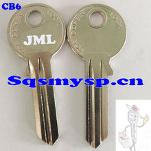 F009 For CB6 painted door key blanks Wholesale