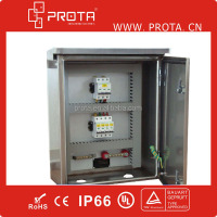 IP65 Steel Enclosure Electrical Distribution Panel Board