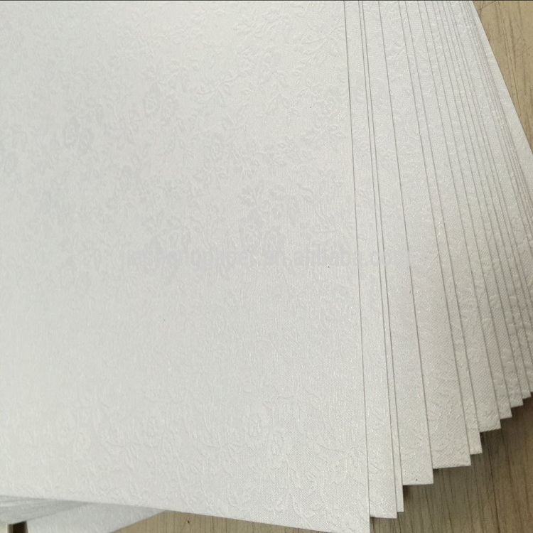 A4 size 180gsm small rose pattern ice pearl <strong>paper</strong>