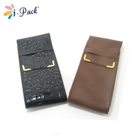 Hotselling fashion leather cool handmade spectacle case pouch