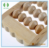 3 rows health care wooden foot massager