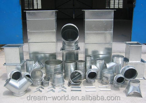 Dream World spiral tubeformer for round air ducts
