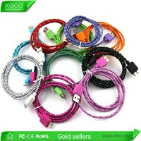 Charger fabric cable for Samsung Note 3 data fabric cable