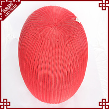 wholesale indoor & Home Furniture plastic rattan apple stool