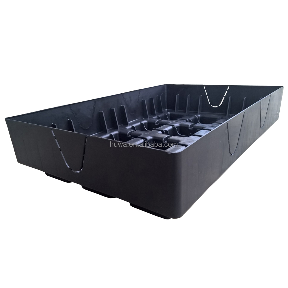 green garden indoor outdoor plastic moving module box square Planter Tray