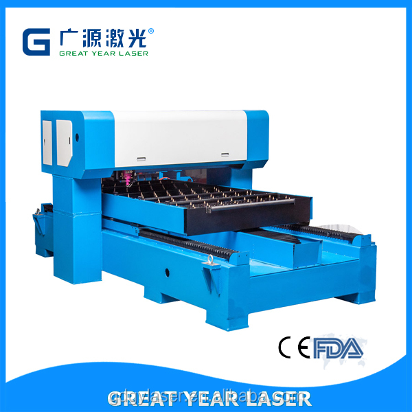 Guangzhou Die Cutter 1500W Flat Die Cutting Machine/Die-cutter Carton Machine/Industrial Laser Platen Die Punching Machine