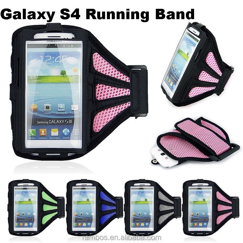 New Arm Bands Holder Belt Bag Running Case Cover for Samsung Galaxy S3 S4 i9500 Gym Jogging Cycling Sports Mesh Armband