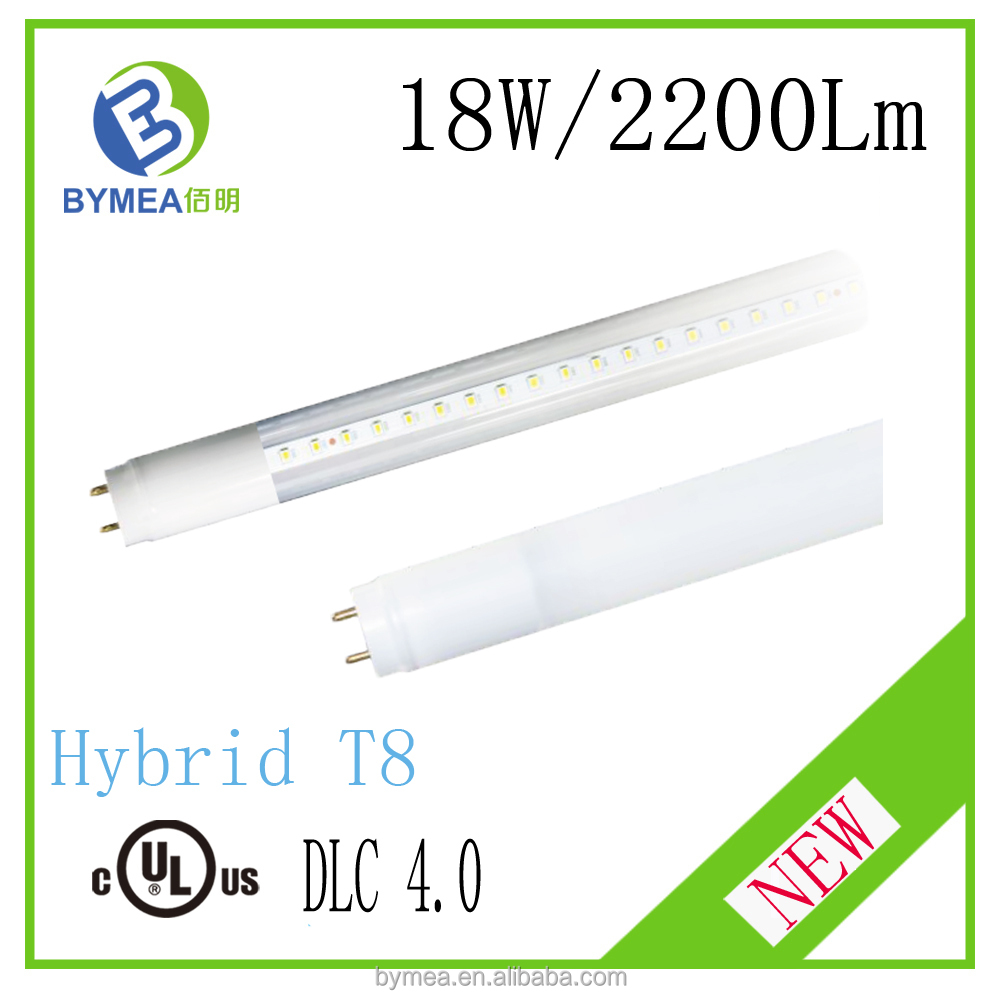 new tube8 china Compatible LED T8 tube 18W 2200 Lumens UL & DLC tube 8 videos